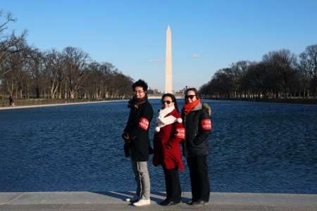 Team Pengyou at the Washington Monument!