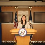 Alyssa at the State Department