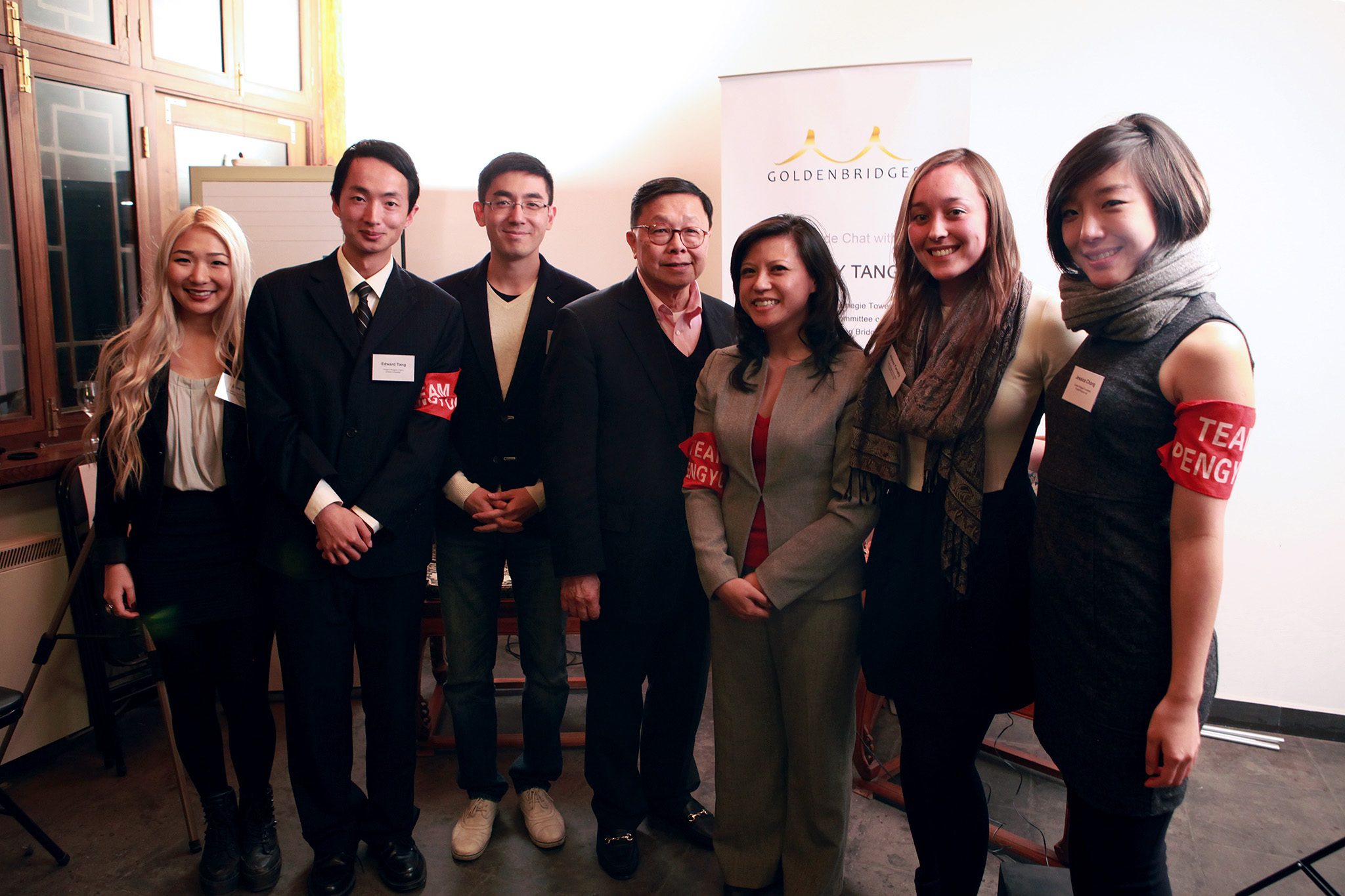 Henry Tang and the Golden Bridges team