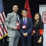 Justin Perkinson, Joe Wong and Holly Chang