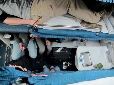 cramped quarters