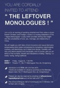 """The Leftover Monologues"""