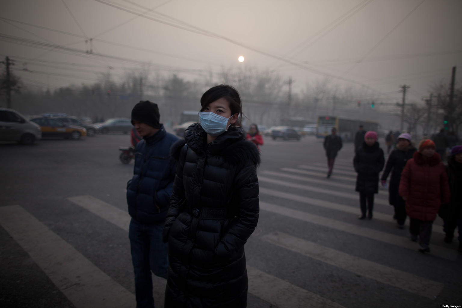 Air pollution in China (dailytech.com)