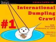 International Dumpling Crawl | Wing Luke Tours