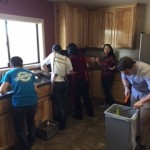 Eagle Chapter gets busy in the kitchen!