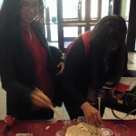 TAMIU Chapter chopstick competition!