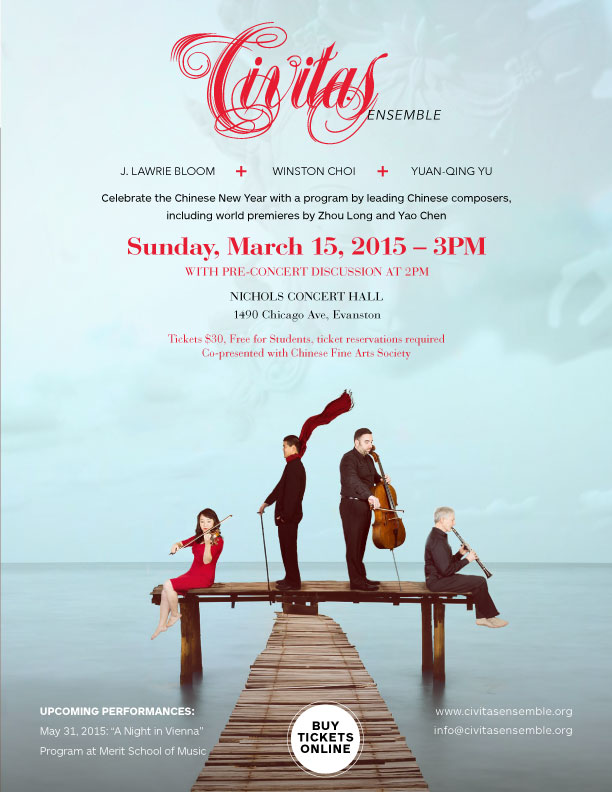Civitas Ensemble: Celebration of the Year of the Ram with Two World Premieres | Chinese Fine Arts Society