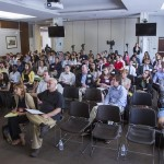 The crowd at SAIS