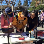 UC Berkeley booth on Pengyou Day.