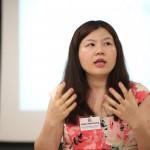 Team Pengyou's Helen sharing her story