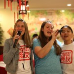 Natalie, Melissa, and Yiwen singing KTV together :)