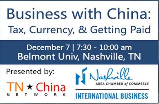 Business with China: Tax, Currency, and Getting Paid