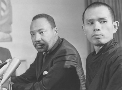 Thich Nhat Hanh and Martin Luther King, Jr.
