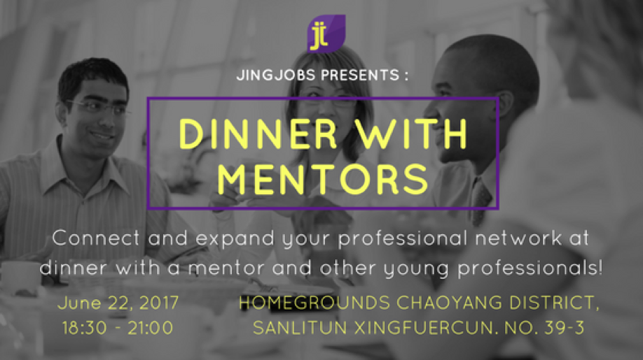 JingJobs Presents: Dinner with Mentors