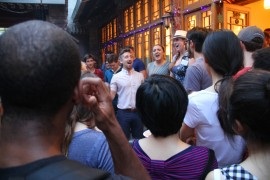 Performance by 京Sing A Capella group