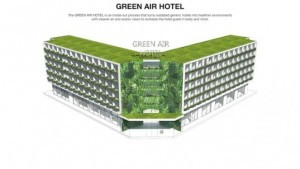 The Green Air Hotel won the grandprize in the 8th annual Radical Innovation Competition
