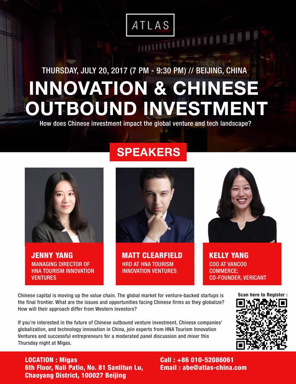 INNOVATION & CHINESE OUTBOUND INVESTMENT | ATLAS-China