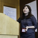 Trainer and Advisor, Helen Huang, teaches about teamwork