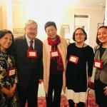 Holly Chang, Ambassador Terry Branstad, Mei Yan, Elizabeth Knup, Alyssa Farrelly