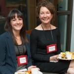 APSA Director Jennifer De Rose enjoys a meal with the Schwarzman Scholars Associate Dean Melanie Koenderman.