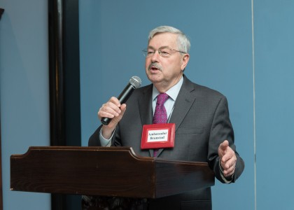 Ambassador Terry Branstad encourages more Americans to study in China.