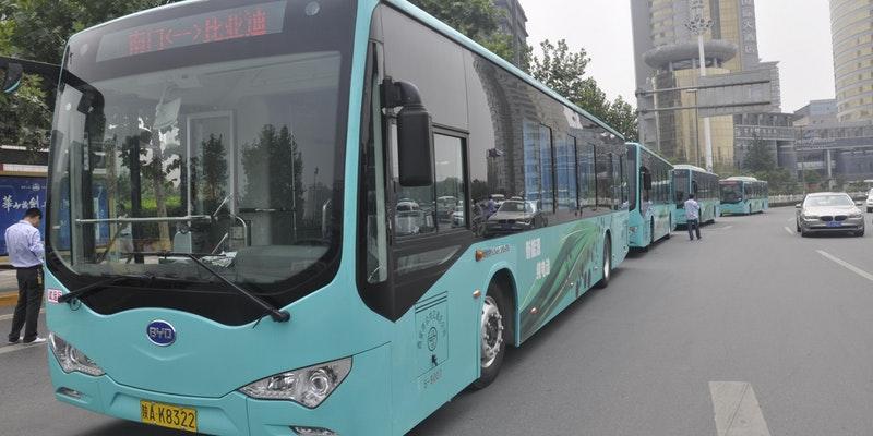 China, U.S. Race to Deploy e-Buses