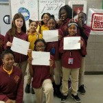 Pengyou Day at Medgar Evers College Preparatory School in Brooklyn, New York.