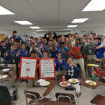 Pengyou Day at St. Xavier High School in Cincinnati, Ohio.