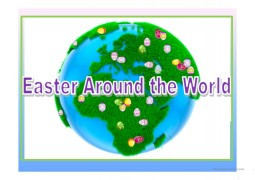 Multicultural Forum: Easter Around the World