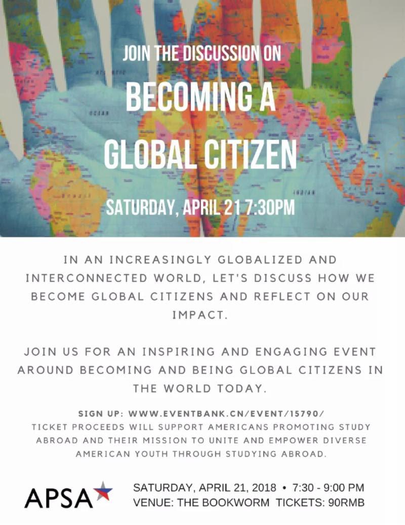 Becoming a Global Citizen | APSA