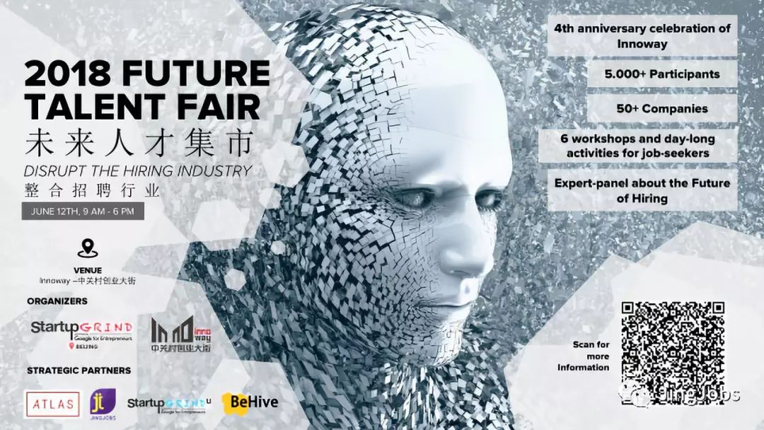 2018 Future Talent Fair - Disrupt the Hiring Industry