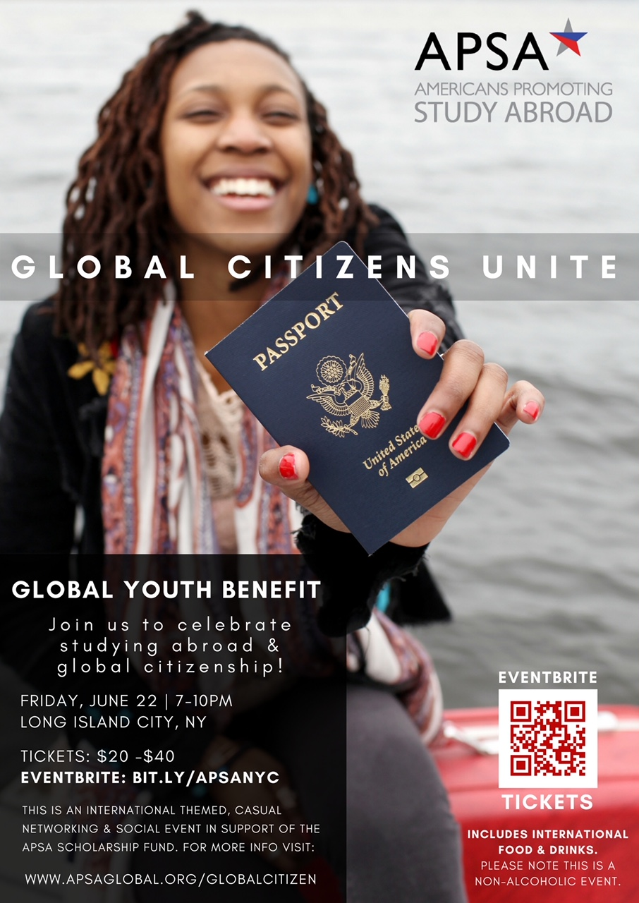 GLOBAL YOUTH BENEFIT - Celebrating study abroad and global citizenship in NYC