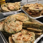 Scallion Pancakes for Pengyou Day!