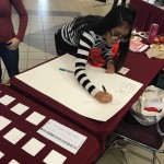 Texas A&M celebrating 朋友 day with a little calligraphy