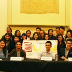 The Pengyous at UC Berkeley holding a panel!